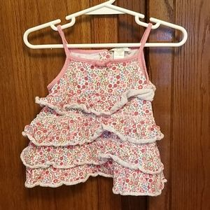 Summer tank and bloomer set  12-18 months, GUC